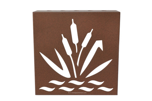 "Decorative Retaining Wall Drain 5"" x 5"" (Earth)"