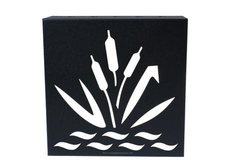 "Decorative Retaining Wall Drain 3"" x 3"" (Black Iron)"