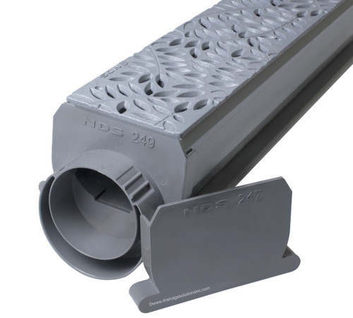 NDS Spee-D Channel Drain Kit (Gray Botanical)