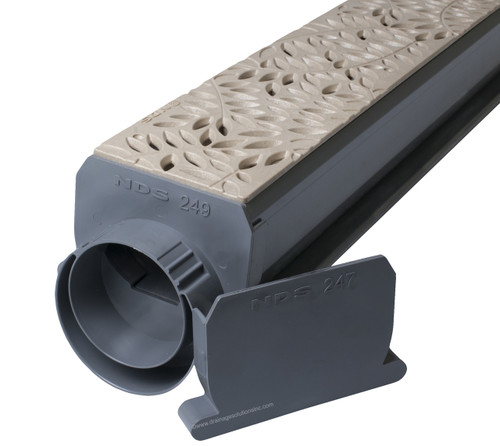 NDS Spee-D Channel Drain Kit (Sand Botanical)