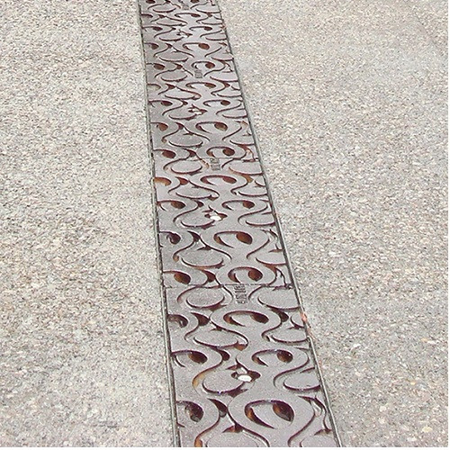 """Iron Age Raw Cast Iron Janis Grate 5"""" for ABT, ACO, MEA"""