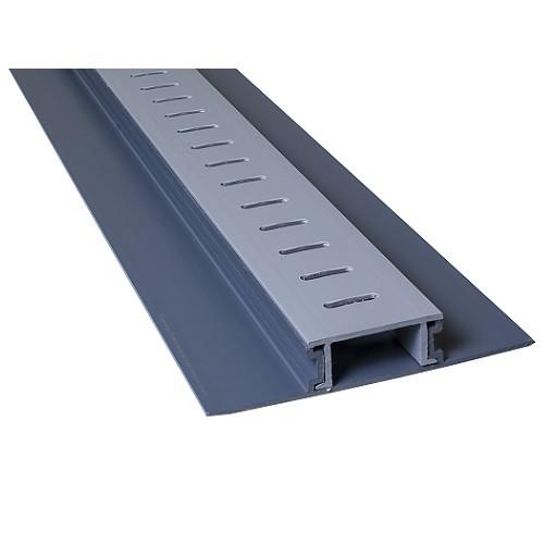 Stegmeier Mini Paver Drain (Grey) 10' (Box of 8)