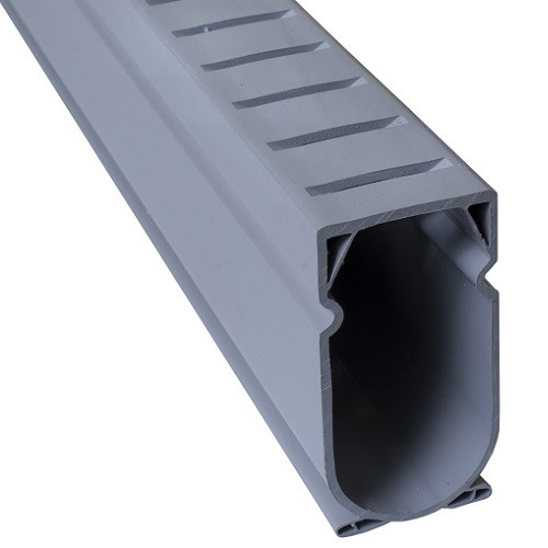 Stegmeier Deck Drain (Grey) 5' (Box of 8)