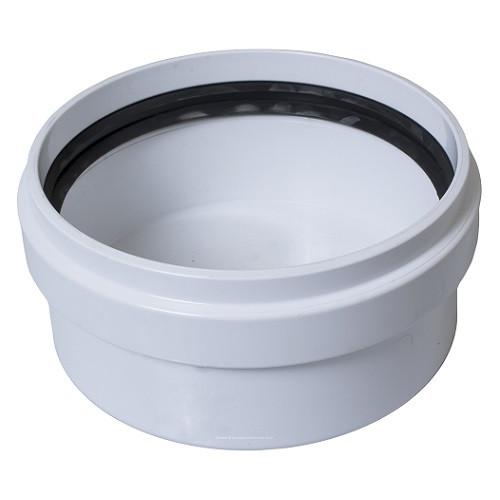 "4"" PVC SDR26 Gasket Joint Cap (G)"