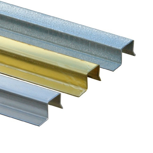 ABT Polydrain Brass Channel Overlay Rail