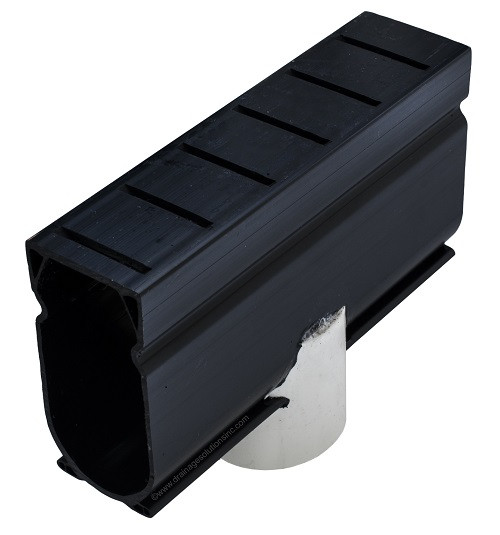 Stegmeier Deck Drain Down Adapter (Black)