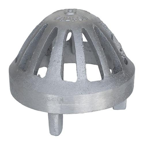 """6"""" Aluminum Dome Grate"""