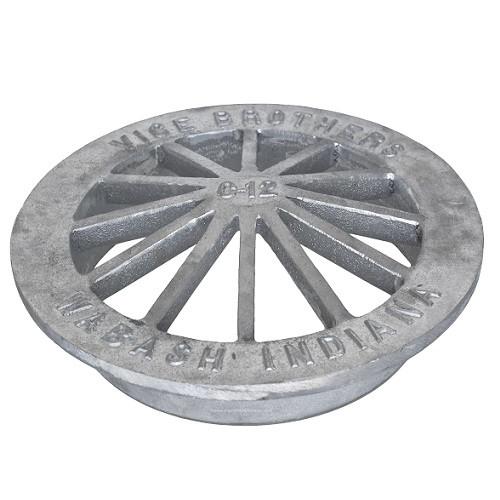 """15"""" Aluminum Low Cone Grate"""