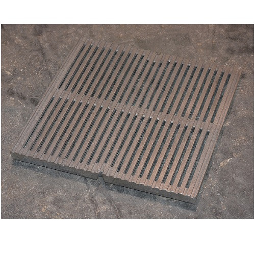 "Iron Age Raw Cast Iron Regular Joe Grate for 9"" Basin"