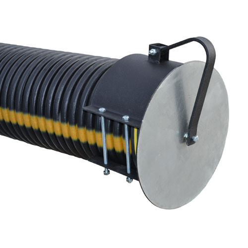 "Flap Gate  8"" for Corrugated Plastic Pipe"