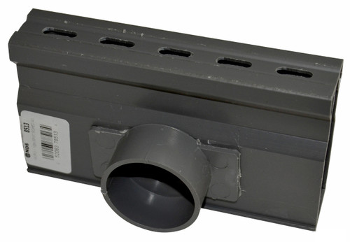 NDS Micro Channel Side Outlet - Gray