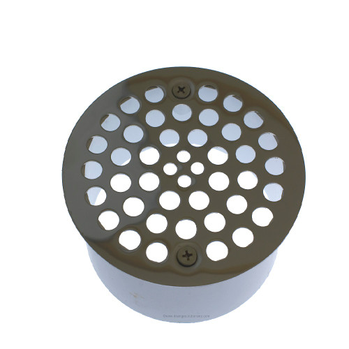 """4"""" Snap-In Drains with Stainless Steel Strainer"""
