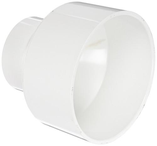 "6"" x 4"" PVC DWV Increaser Coupling (S x S)"