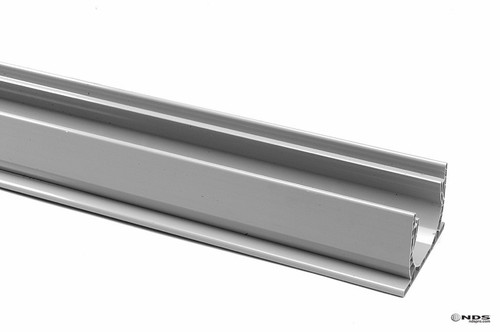 """NDS Spee-D Channel Drain 4"""" x 10' (Gray)"""