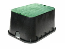 Nds Valve Box 13 Quot X 20 Quot Black Box Green Cover The