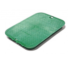 Nds 14 Quot X 19 Quot Valve Box Cover Only Green The Drainage
