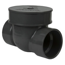 Pvc 2 Quot Backwater Valve S X S The Drainage Products Store