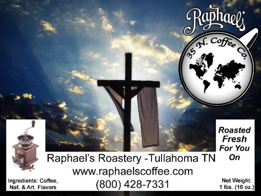 Easter Spice - celebrating an empty cross and the coming of spring! Made with FTO coffee.