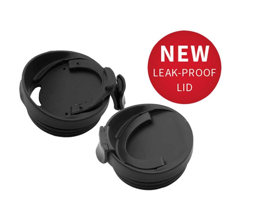 New Snap-Close Leak-Proof Lid