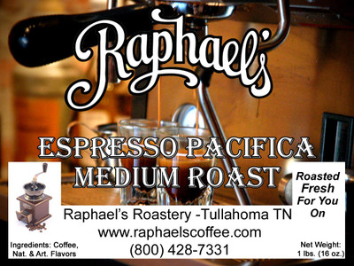 A medium roast blend of four distinct growing regions, providing a wonderful espresso.