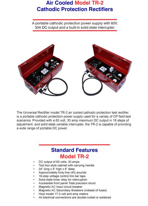 Portable Recitifier