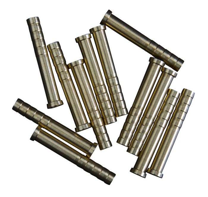"100 Grain Brass Inserts for .246"" ID arrows"