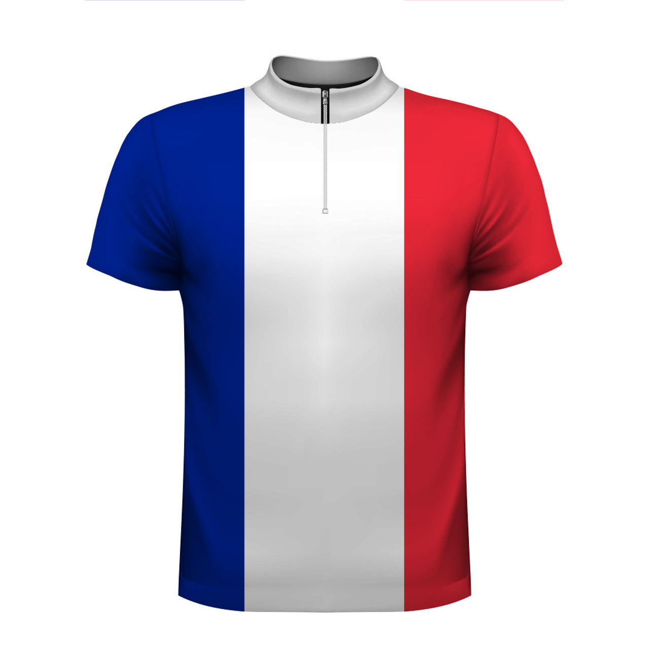 france flag bowling jersey