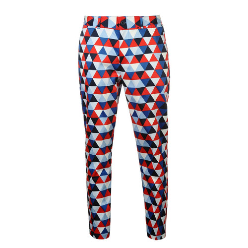 Diamond Red White Blue Pants