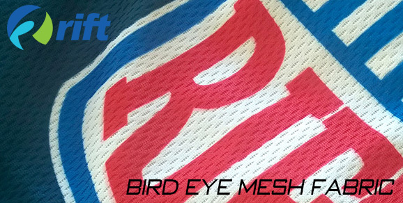 Rift apparel Bird Eye Mesh Fabric