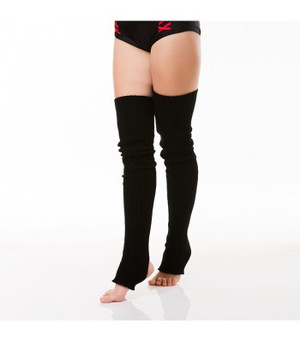 Black Acrylic Leg Warmers 1