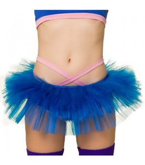 Electric Blue Tulle Tutu  1