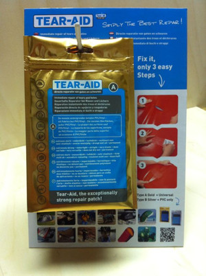 Type A Tear-Aid Repair Patches - (7.6cm x 30cm) - 1
