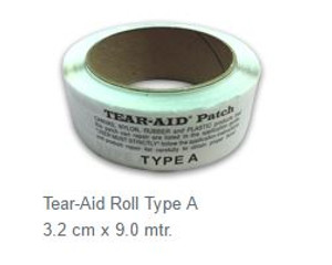 Type A Tear-Aid Repair Roll - 3.2cm x 9m
