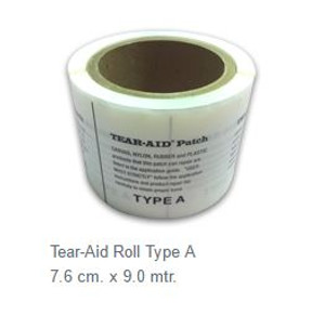 Type A Tear-Aid Repair Roll - 7.6cm x 9m