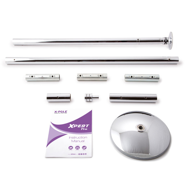 X-Pert Pro Vertical Exercise Pole - Chrome 1