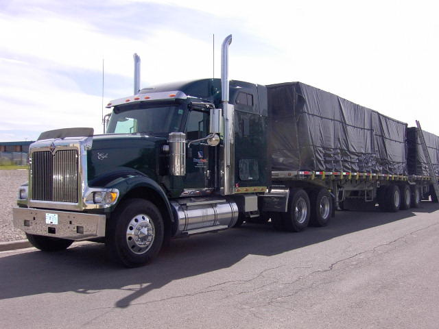 Vinyl Coated Truck Tarps 1