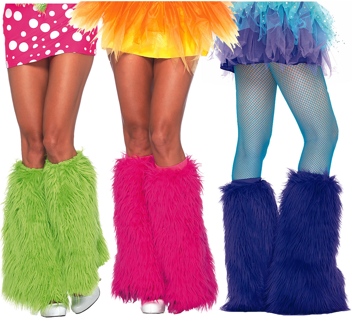 Yeti Faux Fur Leg Warmers