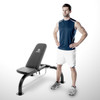 The Marcy Utility Bench SB-10900 by Marcy with model