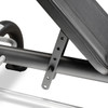 The Marcy Utility Bench SB-10900 by Marcy is conveniently adjustable to vary your workout