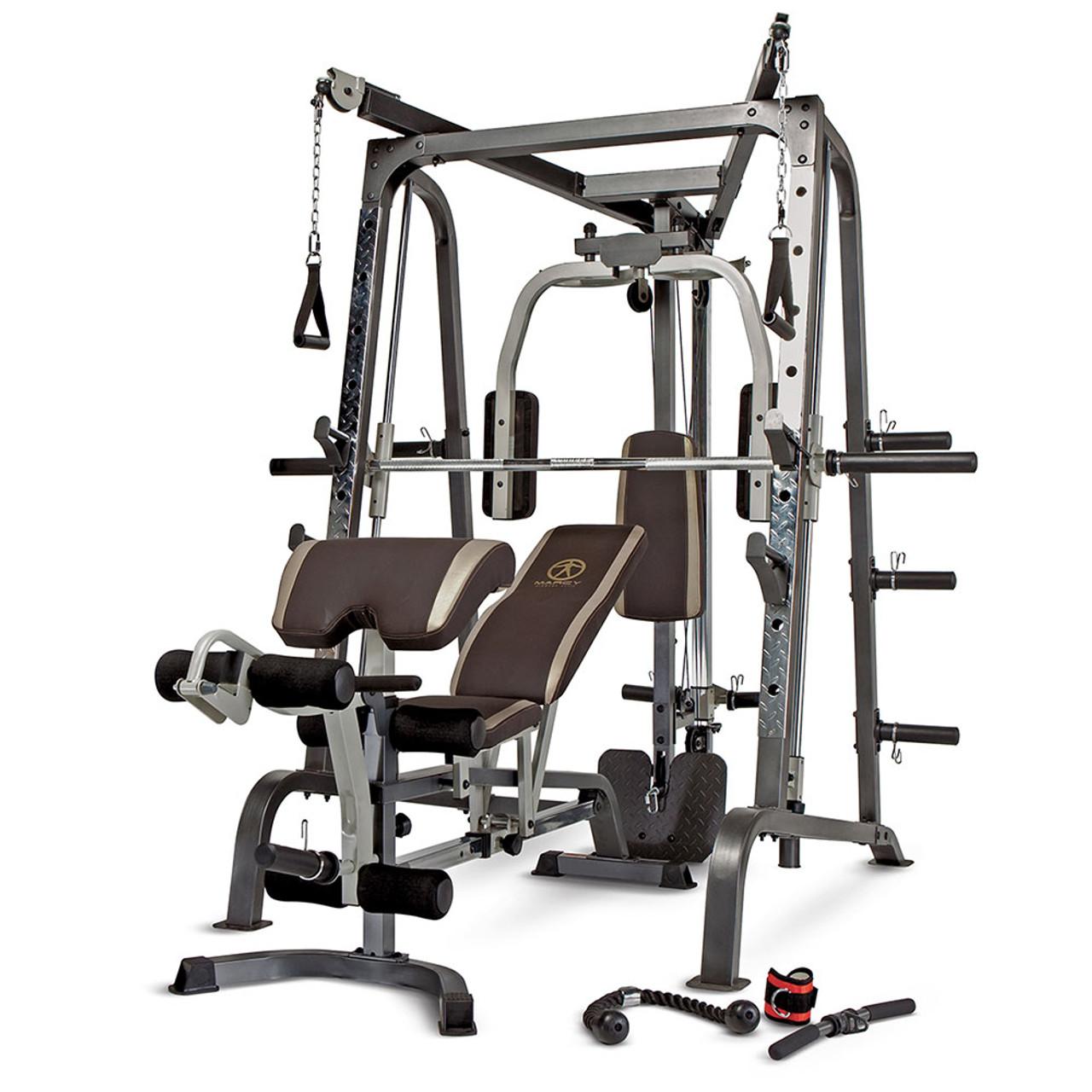 The Best Quality Brand Smith Machine Home Gym MD9010G Marcy Pro