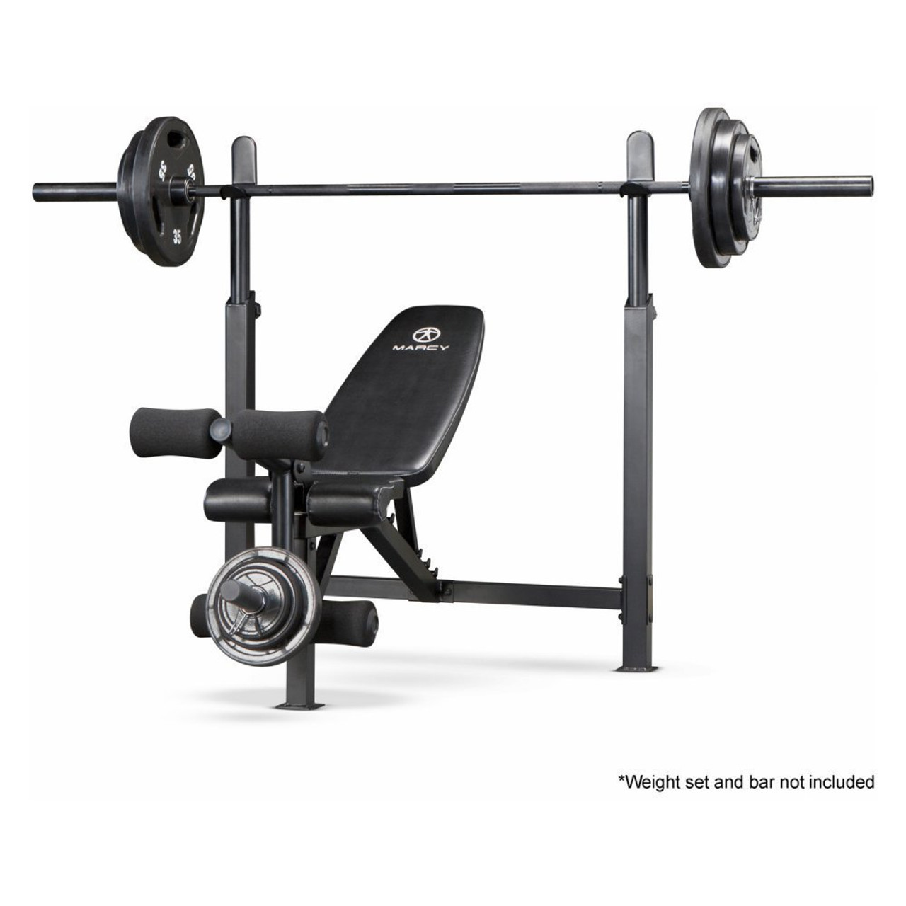 The Marcy Olympic Bench With Rack | MWB 732 By Marcy Adds Variety To Your
