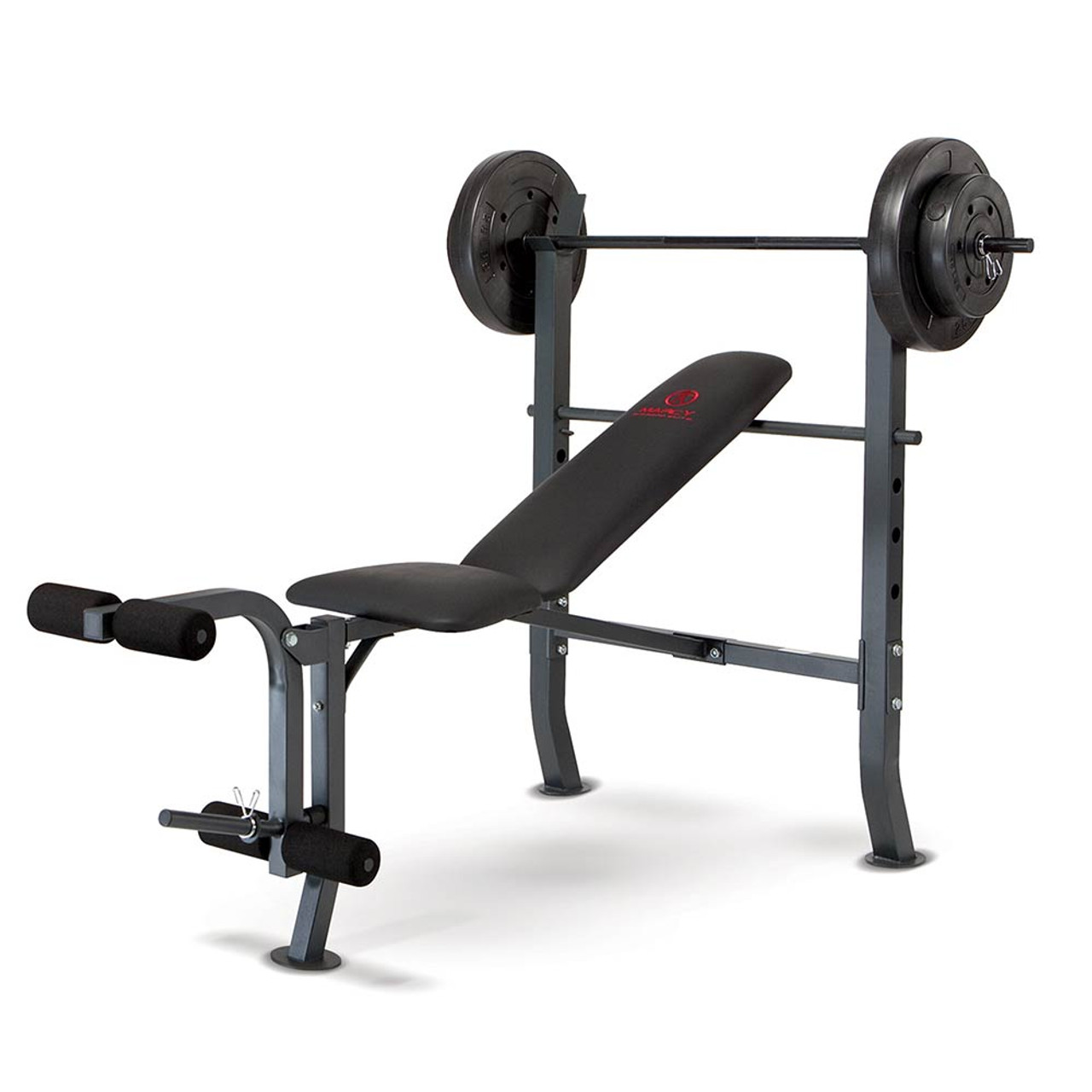 Marcy Quality Strength Weight Bench 80lb Weight Set MD2080