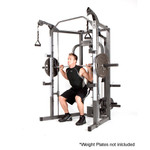 The Marcy Smith Machine SM-4008 in use - squats