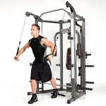 The Marcy Smith Machine SM-4008 in use - Cable Crossovers