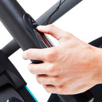The Marcy Motorized Treadmill With Auto Incline JX-663SW has incline control at your fingertips
