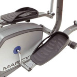 The Marcy Elliptical NS-1201E has large pedals with grip to ensure safety
