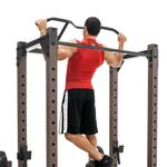 The Monster Rack SteelBody STB-98005 in use - wide pull ups
