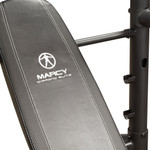 The Marcy Diamond Mid Size Bench MD-867W comes with comfortable padding for extended workouts