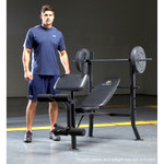 Model with the Marcy Standard Bench MWB-382