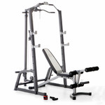 Marcy Deluxe Cage System with Weight Lifting Bench PM-5108